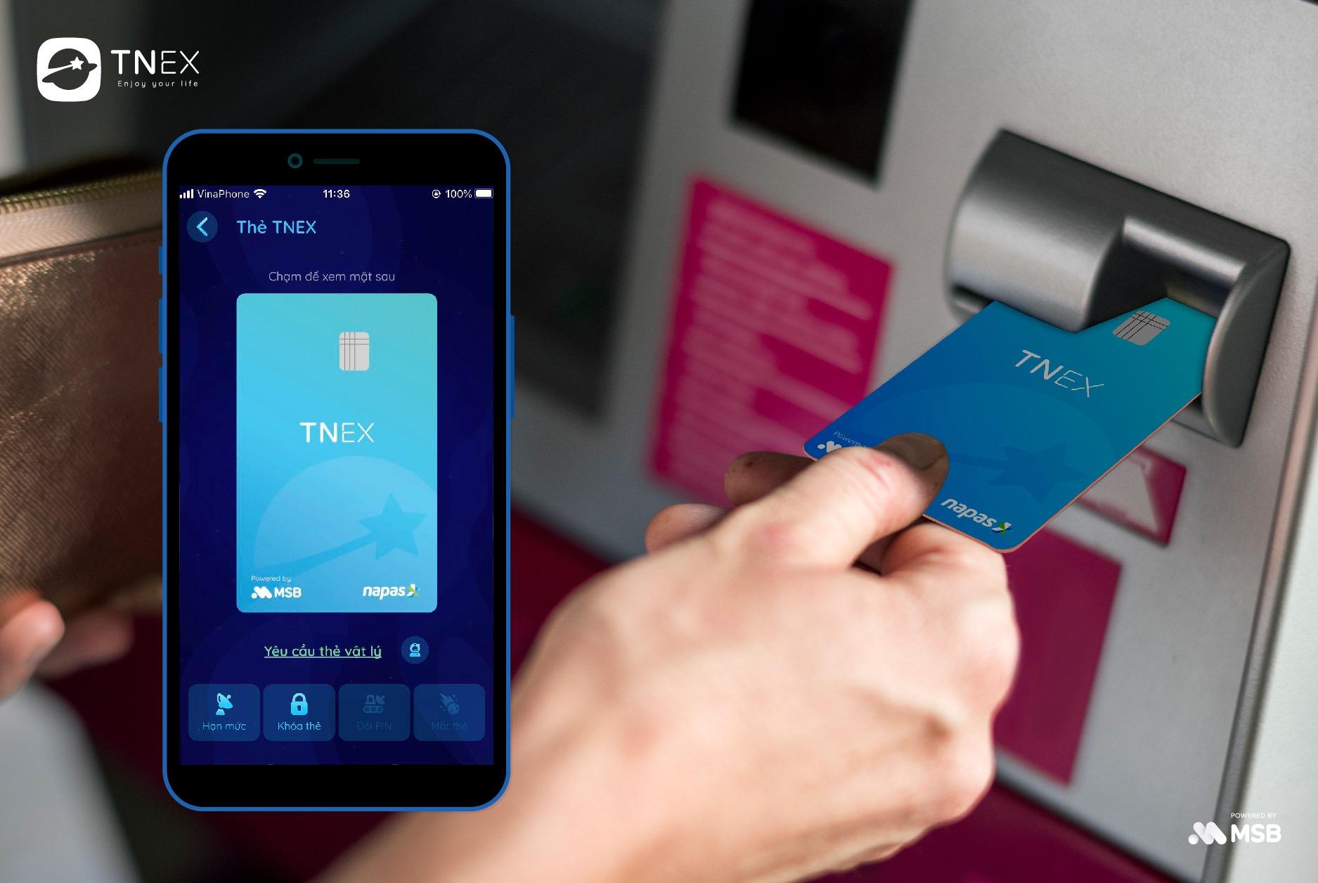 Đặc điểm nhận dạng vô cùng đơn giản và dễ dàng bằng cách quan sát logo Napas trên chiếc thẻ ATM